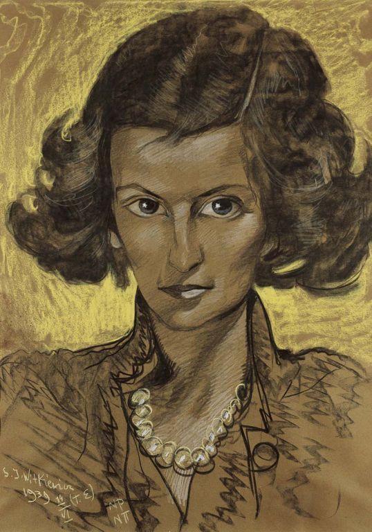 Stanisław Ignacy Witkiewicz, Witkacy (1885-1939) —  Portret Irminy…