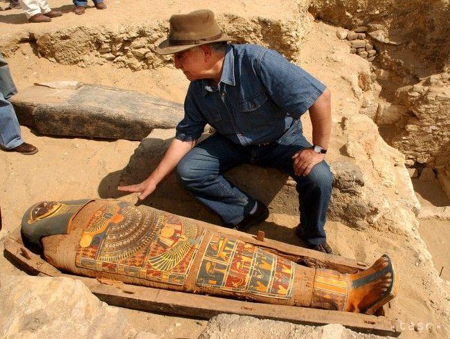 Egypt: Archeológovia objavili 17 múmií a sarkofágy - Zaujímavosti - SkolskyServis.TERAZ.sk