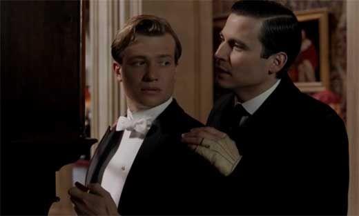 Thomas takes Jimmy under his wing on Downton Abbey Season 3 Episode 5
