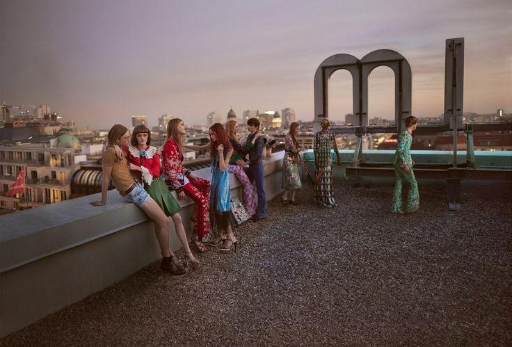 Glen Luchford for Gucci Spring Summer 2016