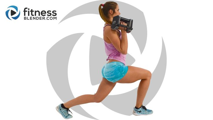Brand new, just went live: 36 Minute At Home Butt & Thigh Workout @ https://www.fitnessblender.com/…/brutal-butt-and-thigh-work… This routine uses a combination of three types of training: traditional strength training exercises, dynamic combination moves that call upon balance, core and coordination, and a wild card of an exercise that's sure to burnout your muscles.