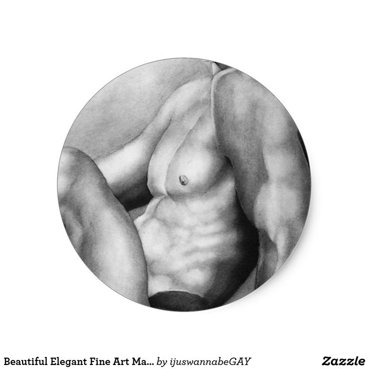Beautiful Elegant Original Fine Art Male Model Body Builder, printed onto the Round Stickers. Own these beautiful tasteful Original Fine Art Drawing of a handsome Male Model Body Builder Stickers TODAY! 20 Round Stickers per Sheet. Fast shipping Worldwide. 30 Day Money Back Guarantee.    Beautiful Elegant Original Fine Art Male Model Body Builder, printed onto the Round Stickers, created by Artist RjFxx Honored with 237 Art Awards. *All rights reserved.