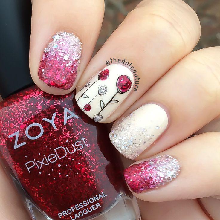 Nail Art Valentine's Nails!