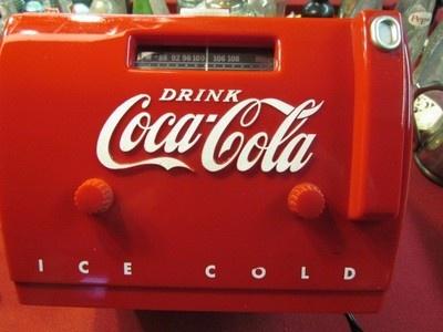 Coca Cola Cooler Radio