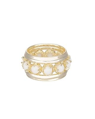 Hayes Eternity Ring in White - Kendra Scott Jewelry. Coming soon!