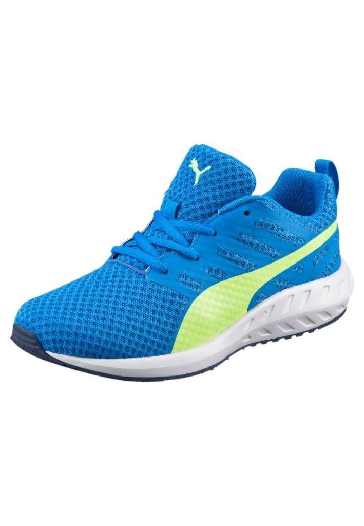 #Puma #FLARE #JR. #Sneaker #low #electric #blue #lemonade/safety #yellow für #Kinder