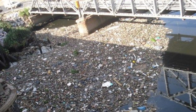 Contaminación urbana.