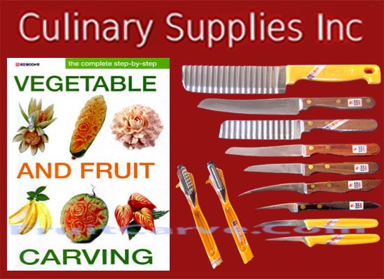 Best fruit and vegetable garnishing tools images on