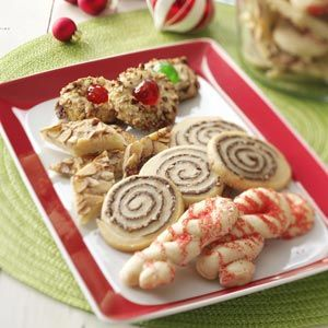 Master Cookie Mix ~ Click on this for the Master Mix recipe.  Use this mix to make Easy Almond Bars, Chocolate-Hazelnut Pinwheels, Holiday Thumbprint Cookies and Peppermint Twists.  All recipes are here!