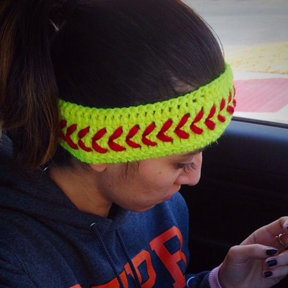 Accessories - Handmade Softball Headband