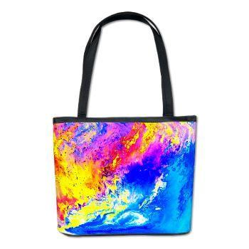 Beautiful weather Bucket Bag