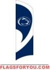 Penn State Nittany Lions Tall Team Flag 8.5' x 2.5'