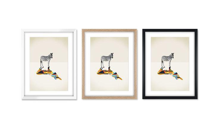 zebra by jason ratliff monoqi art shop monoqi art shop pinterest shops zebras and art. Black Bedroom Furniture Sets. Home Design Ideas