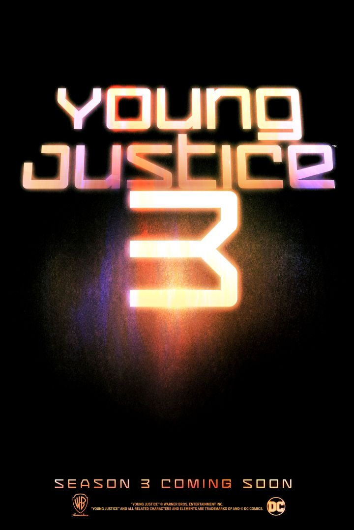 Young Justice: Season 3 teaser poster. I'm actually crying right now