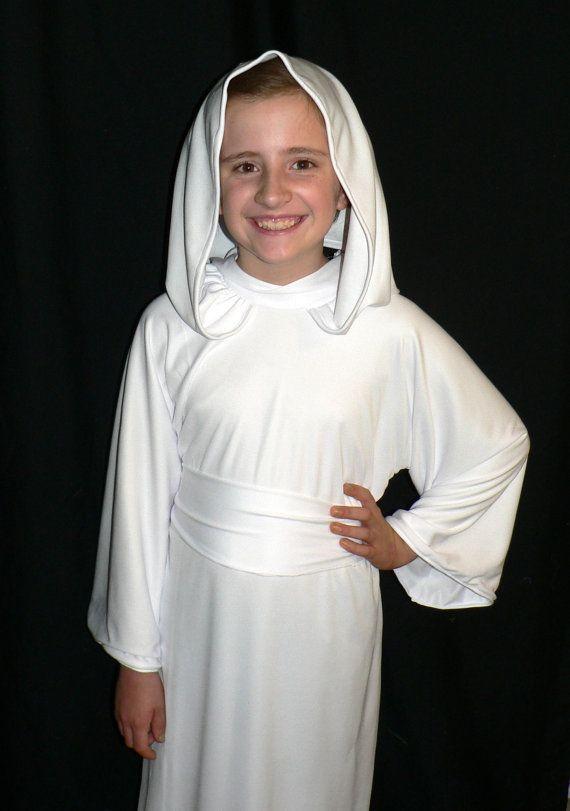 Star Wars Princess Leia Costume, Child Sized, Custom Made on Etsy, $60.00