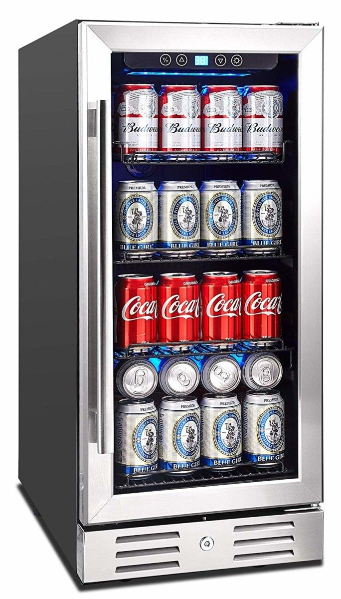 177 Can 23 4 Convertible Beverage Refrigerator In 2020 Beverage Fridge Beverage Refrigerator Glass Door Refrigerator