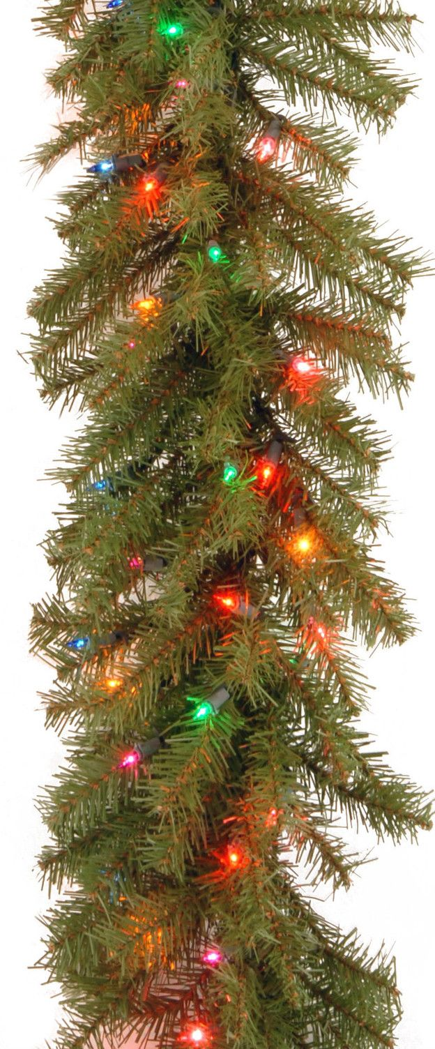 Norwood Fir Pre-Lit Garland