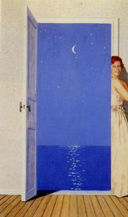 Rene Magritte - Portrait of Germaine Nellens, 1962