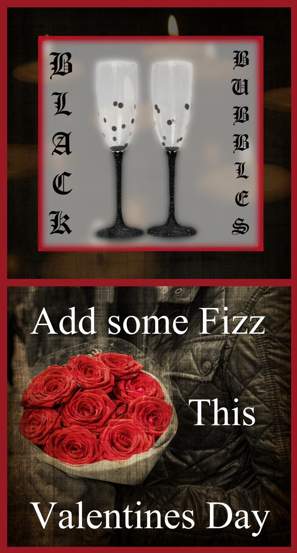 Decorated wine glasses / Gothic home decor / Glitter wine glasses / Gifts for couples / Gothic wine glasses / Engagement gifts for couples