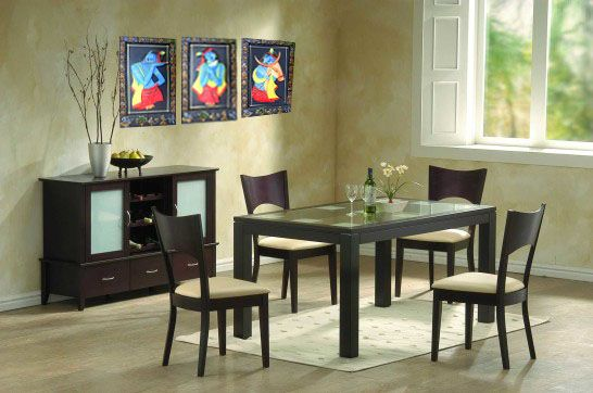Framed with terracotta Krishna murals to decorate your room.