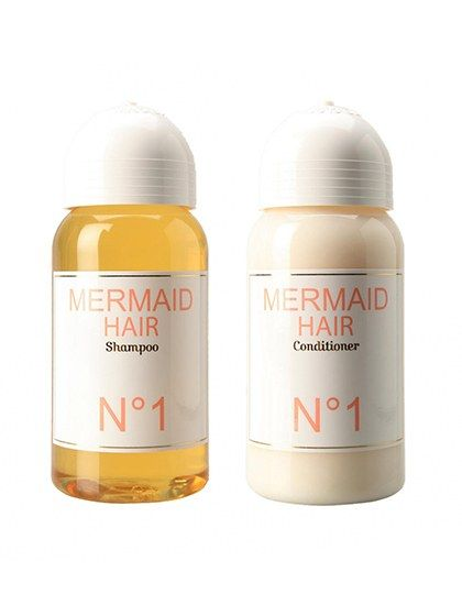 Mermaid is primarily a perfume company, so it's no surprise that their shampoo and conditioner smell great, too.