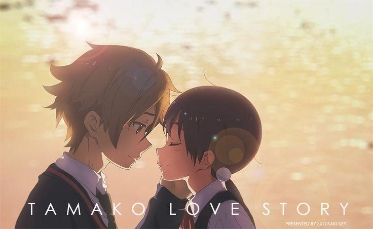 Tamako Market / Tamako Love Story | Kyoto Animation / Kitashirakawa Tamako and Ooji Mochizou / 「Tamako Love Story」/「杉崎key」のイラスト [pixiv]