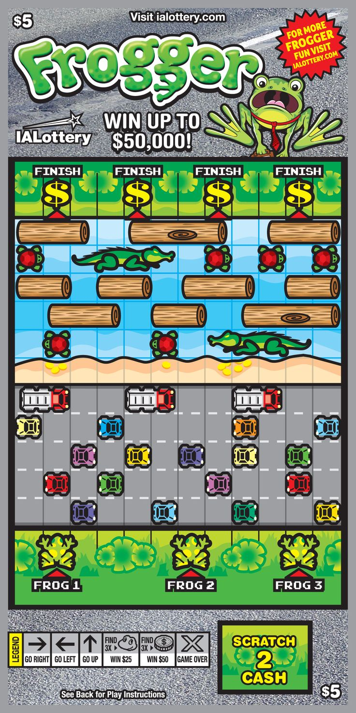 More frogger scratch tickets prizes now available 6 19 17