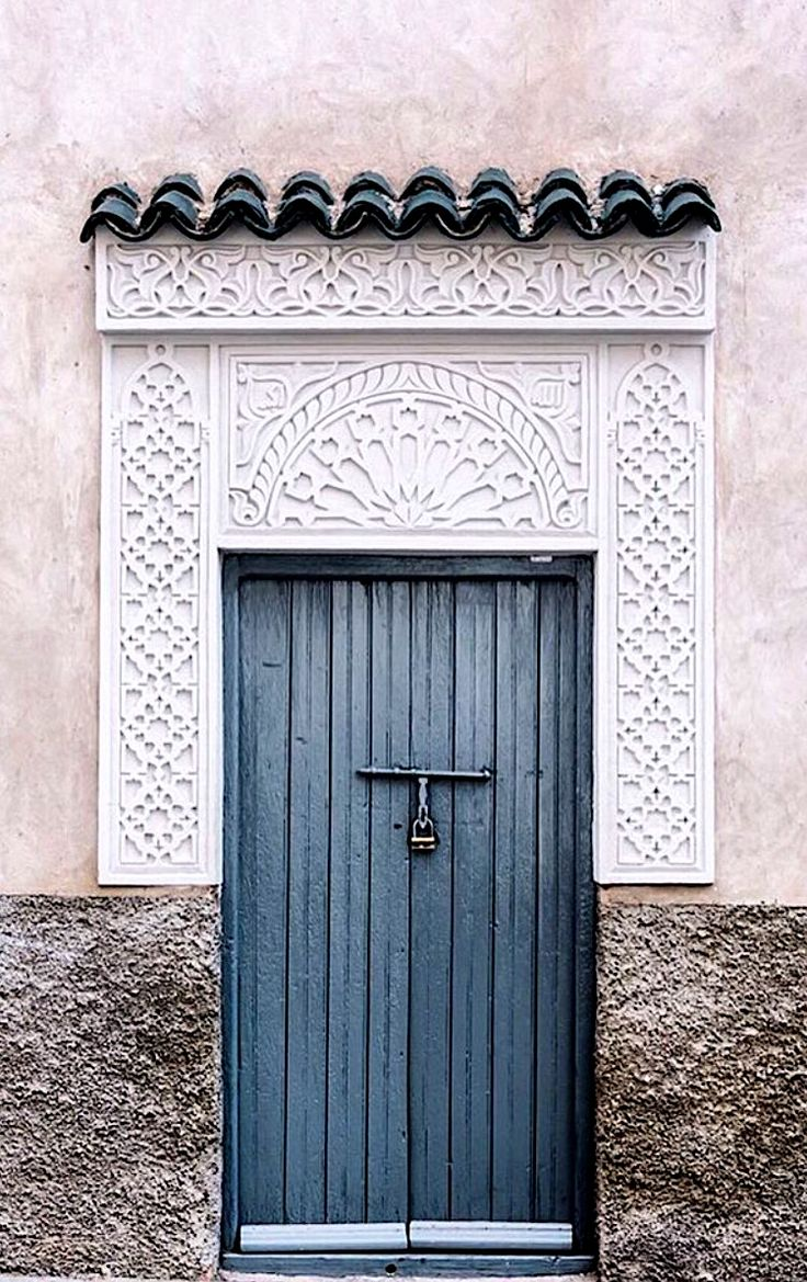 Marrakech, Morocco   ~ Beautiful Doors