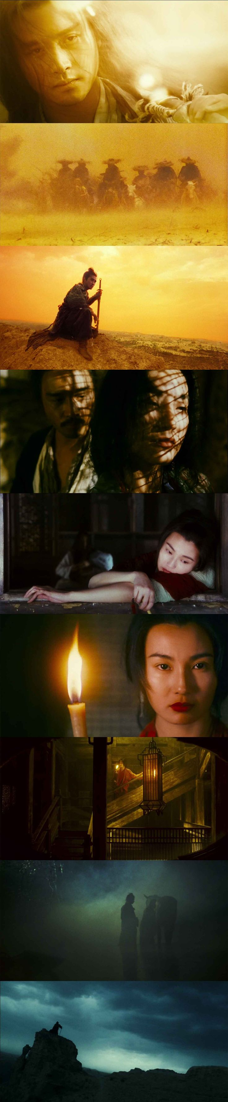 'Ashes of Time Redux' (Wong Kar Wai, 1994) Cinematography by Christopher Doyle