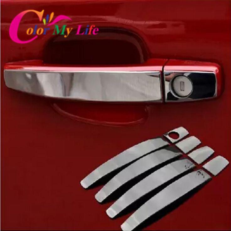 8Pcs/Set Stainless Steel Door Handle Cover Sticker for Opel Zafira Astra Insignia Vectra Vauxhall Mokka ASTRA J Cruze Malibu | Price: US $3.62 | http://www.bestali.com/goto/32347632033/10