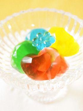 4色のキラキラ~♪手作りグミ by Kyon2 [クックパッド] 簡単おいしい ...