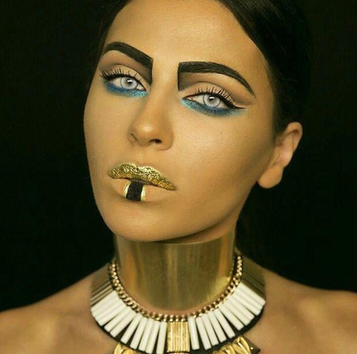 Cleopatra Egyptian makeup