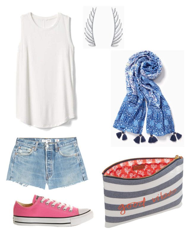 """Casual, Every Day"" by sdstylebydeborah on Polyvore featuring RE/DONE, Gap, Stella & Dot, Converse, stelladotstyle and sdstylebydeborah"