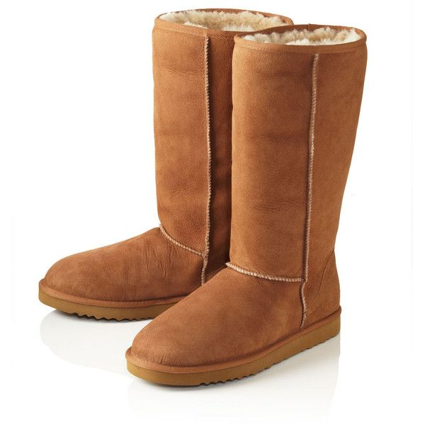 UGG Australia Tall Chestnut Brown ($310) ❤ liked on Polyvore