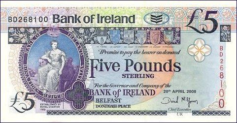 irish banknotes latest news - Pam West British Bank Notes