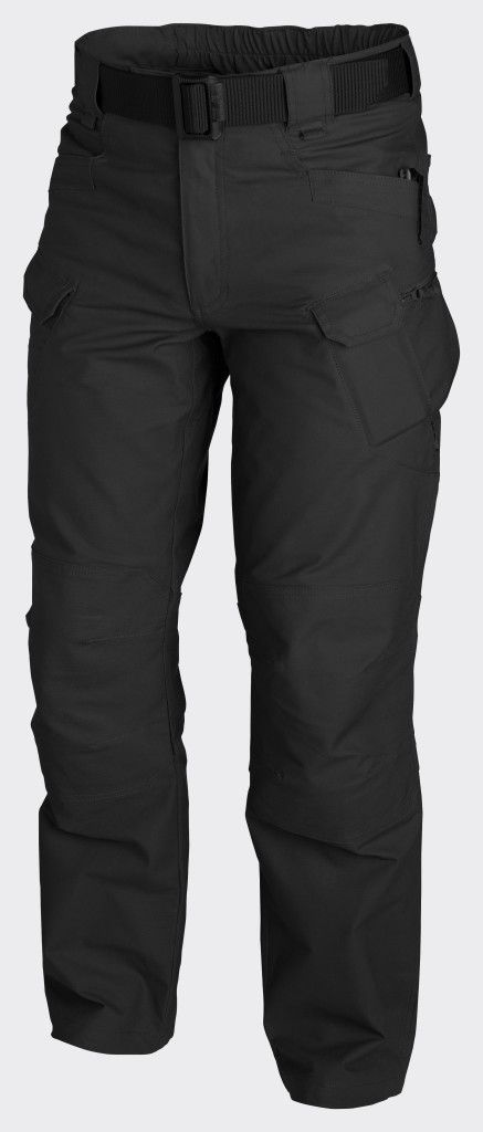 Helikon UTP Urban Tactical Pants Canvas - Black Main bottom apparel from Urban Tactical Line®. Designed for Law Enforcement operators