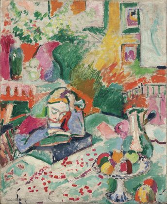 Matisse, Interior with a Young Girl (Girl Reading)