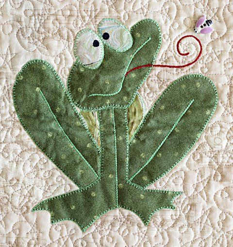 Omg...I HAVE to make this on a quilt