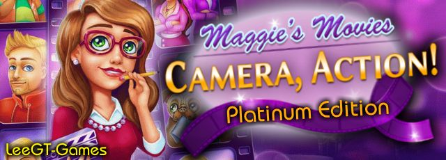 LeeGT-Games: Maggie's Movies: Camera, Action! Platinum Edition