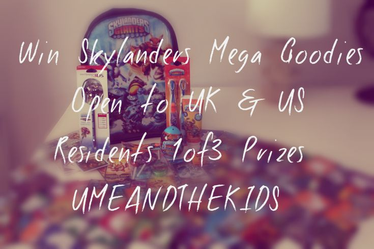 Skylanders Win mega goodies Free competition UK and US