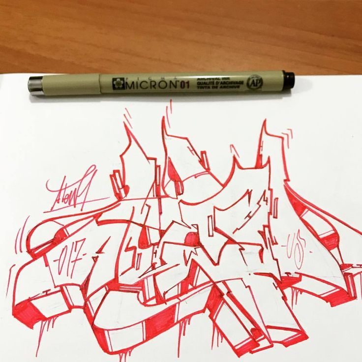 Atew one - us crew - 2017 #graffiti #wildstyle #style #sketch #hiphop #blackbook #sketches #undergroundsolution