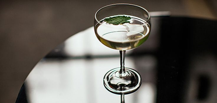 Celebrate spring by shaking up Tasting Table's herb-packed Gimlet, featured on AOL!