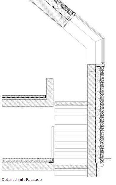 Gabion Wall Design Drawings : Konzept haus by titus bernhard architekten