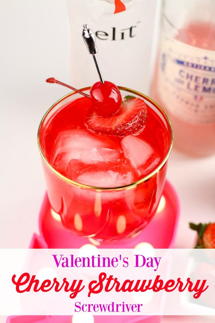 It's not every day that I enjoy a little adult beverage. Cocktails are an occasional thing for me not a regular indulgence. But every so often, I do enjoy a little something. These Valentine's Cherry Strawberry Screwdrivers my friend Derrick came up with are so amazing (and you can make them a mocktail, just skip …