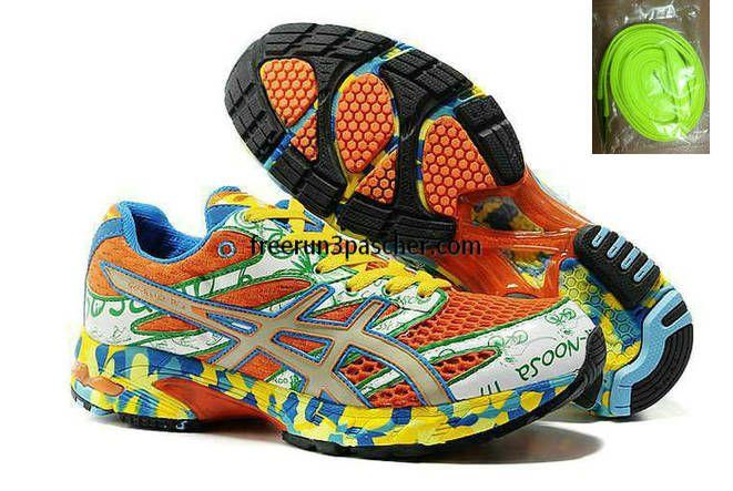 Pas Cher Asics Gel Noosa TRI 6 Hommes Orange vert Blanc Bleu Jaune · Men Running  ShoesAsics ... 05157ac38280