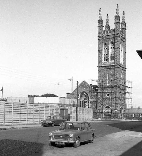 Sherriff Street, Dublin 1968.