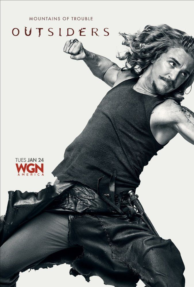 Latest Posters in 2019 Outsiders tv, Kyle gallner