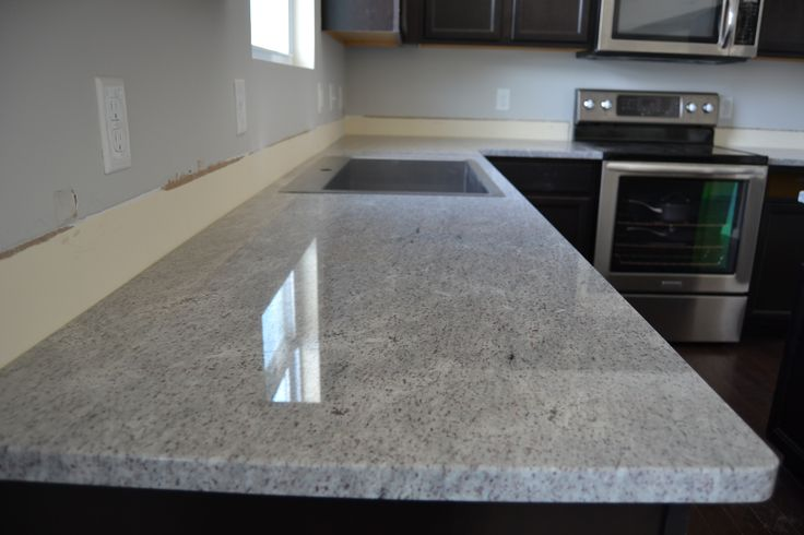 Sensa Silver Silk Granite Kitchen Countertop