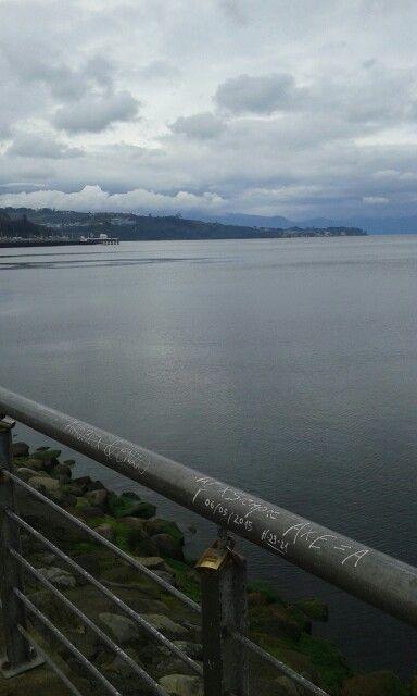 Bahía de Puerto Montt. Chile