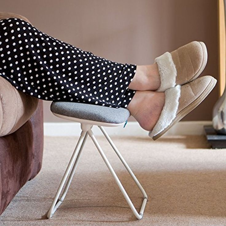 Tilting Leg Rest Stool Foot Rest Leg Support Stool